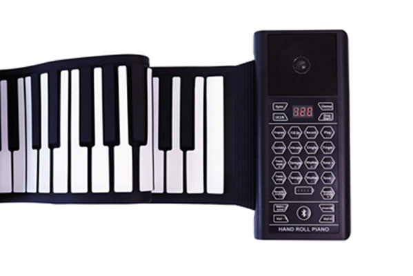 7. Kiker Music Roll up Piano |THICKENED KEYS (88 Keys)