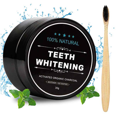 8. Aotto Activated Charcoal Proven No Hurt Natural Teeth Whitener