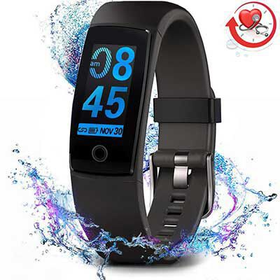 9. MorePro Fitness Tracker with a Blood Pressure Monitor, for Kids, Women, and Men