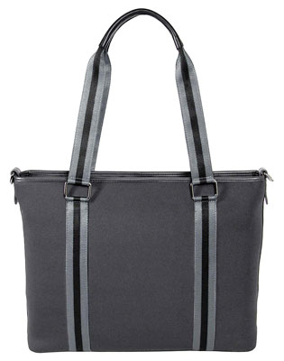 1. My Best Friend is a Bag Laptop Tote for Women – Grey