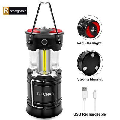 #3. BRIONAC Camping Light