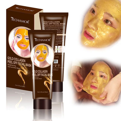 2. J.wassa Collagen Facial Mask for Women and Men, Christmas Gift