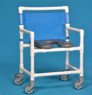 2. CareProdx Extra Wide All Locking Casters Shower Chair