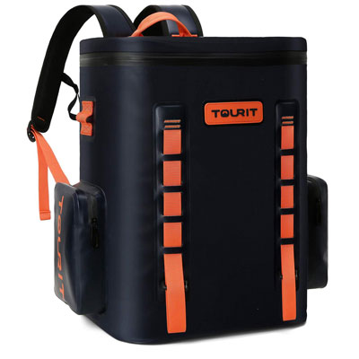 5. TOURIT Leak-Proof Soft Sided Cooler Backpack