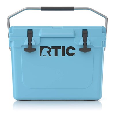 7. RTIC Cooler, 20 qt (Blue)