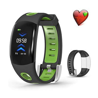 5. VORSTEK Activity Fitness Tracker with a Heart Rate Monitor for Women, Men and Kids