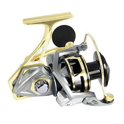 6. ANGLER DREAM Fishing Reels for Saltwater and Freshwater