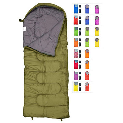 5. REVALCAMP Sleeping Bag- Warm and Lightweight (Adults & Kids)