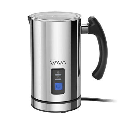 7- VAVA Milk Frother, Stainless Steel (FDA Approved)
