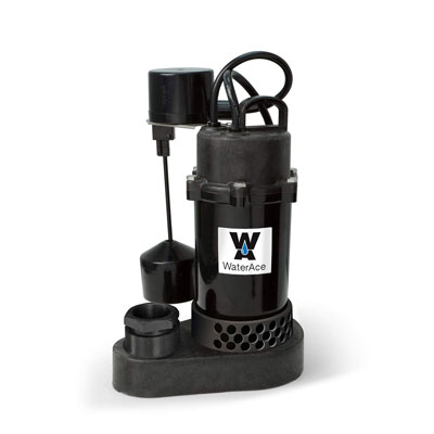 10. WaterAce WA50PSV SUMP PUMP