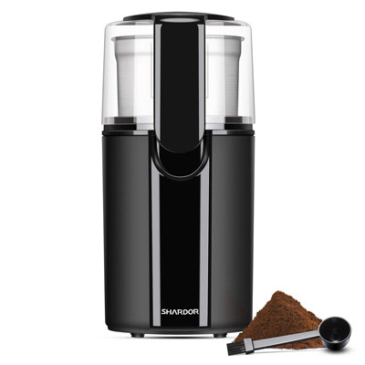 9. SHARDOR Electric Coffee Grinder with a Stainless Steel Bowl
