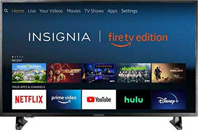 #9. INSIGNIA NS-50DF710NA19 4K Ultra-HD HDR 50 Inch Smart TV (Fire TV Edition)