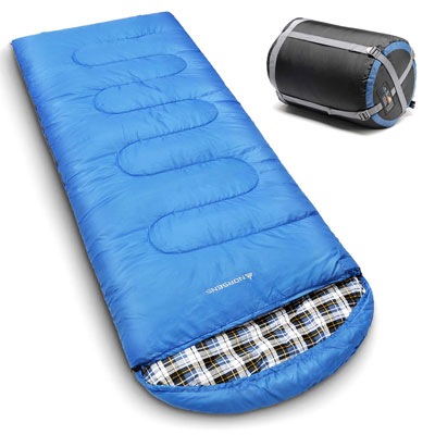 1. NORSENS Sleeping Bag- for Backpacking and Hiking
