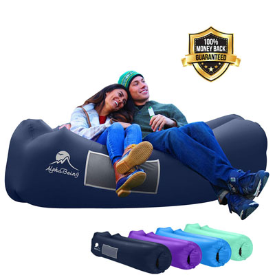 6. AlphaBeing Inflatable Lounger Air Sofa for Picnics and Festivals