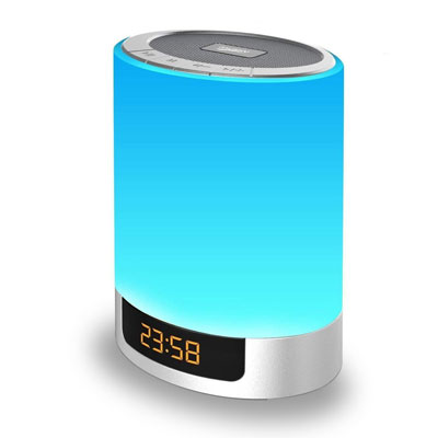 10- MJDUO Digital Alarm Clock with USB