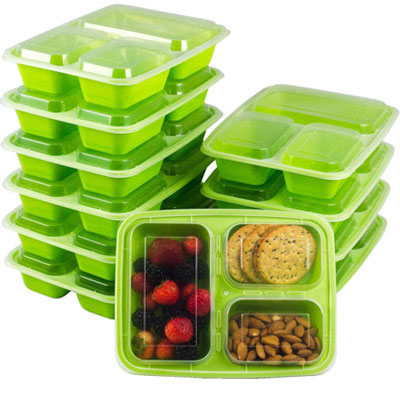2. GoEcoBox Meal Prep Containers, BPA-Free and Dishwasher Safe