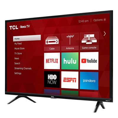#10. TCL 49S325 Remote Controlled 1080p Full HD 3 Series Roku 49 Inch Smart LED TV
