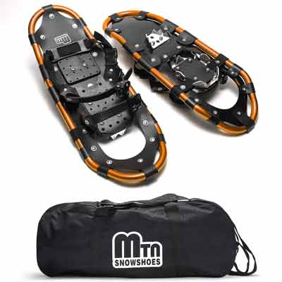 #8. SaphiRose Trekker 22'' for Men & Women with Adjustable Ratchet Bindings Snow Shoes