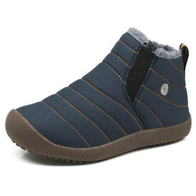 7. Enly Winter Boots - Water Resistant Booties for Kids