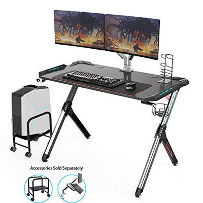 1. Eureka ergonomic gaming desk