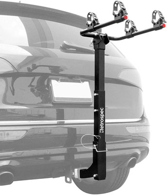 9. Retrospec Lenox Car Bike Rack; 2 Bicycle Carrier