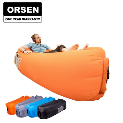 8. ORSEN Inflatable Lounger Air Sofa for Parties, Picnics, and Festivals
