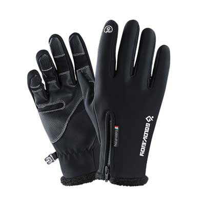 8. Jandays Touchscreen Anti-Slip Running Gloves Sports Gloves