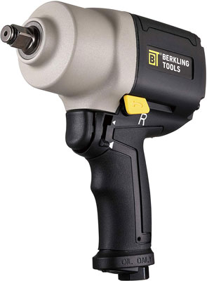 #7. Berkling Tools 2463T 0.5 Inch Heavy Duty Twin Hammer Pneumatic Air Impact Wrench