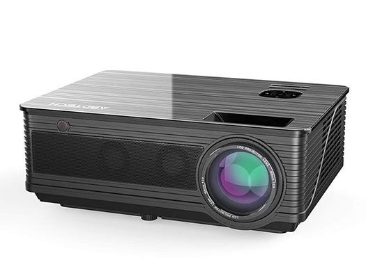 9. Abdtech 3600 Lumens Projector with 2 In-built Speakers for Home Theater