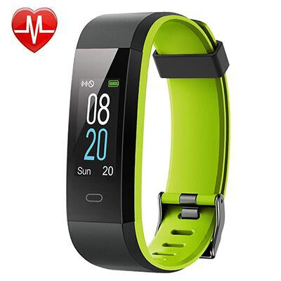 7. Willful IP68 Waterproof Fitness Tracker with Step Counter