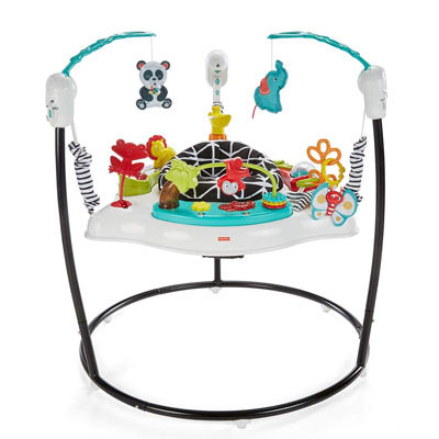 2. Fisher-Price Jumperoo- Animal Wonders