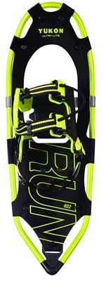 #2. Yukon Charlie's 822 Ultra-Lite Running V-Tail 7075-t6 Aluminum Frame Snow Shoes