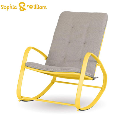 6. Sophia and William Outdoor Patio Rocking Chair