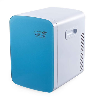 2. Think Gizmos Mini Fridge AC/DC Portable Electric Cooler and Warmer