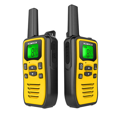 8. KOMVOX Professional and Rechargeable Walkie Talkies