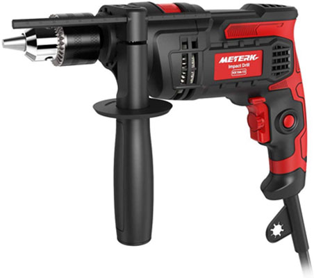 6. Meterk 7.0 amp 1/2 Inches Corded Drill