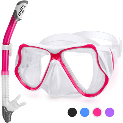 #5. Greatever Full Face Snorkel Mask