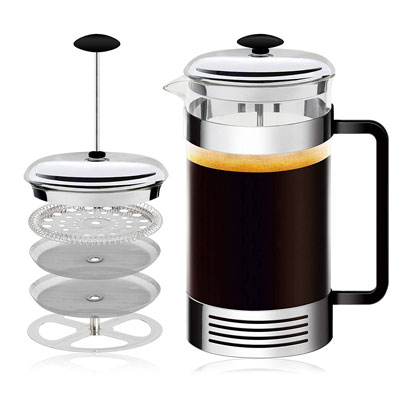 1. OIG Brands French Press Coffee Maker 32 oz. Multi-Cup
