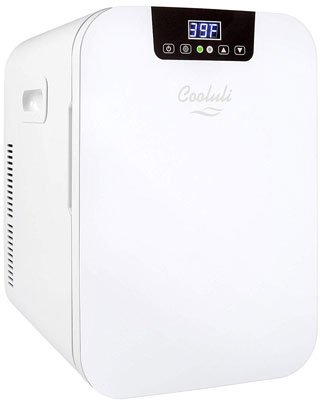 1. Cooluli Concord Cooler/Warmer 20-liter Compact Mini Fridge for Cars
