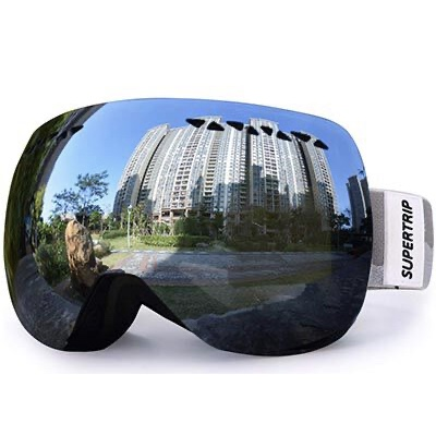 4. Supertrip Snowboard Goggles for both Men & Women 100% UV Protection