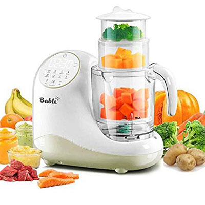 3. Bable Baby Food Maker, Auto Shut-Off