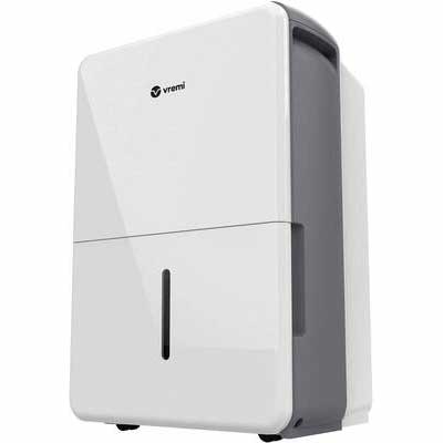 #1. Vremi 4500 Sq. Ft Operates Quietly Dehumidifier Energy Star Rated for Basement & Large Spaces