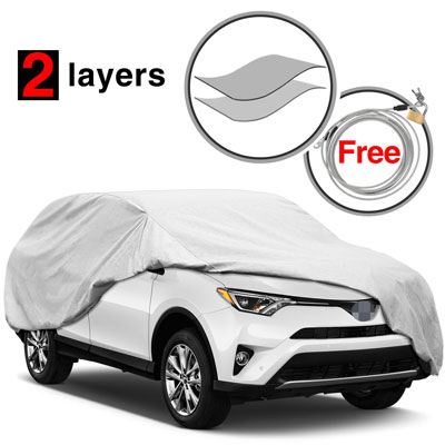 3. KAKIT Water Resistant SUV Cover