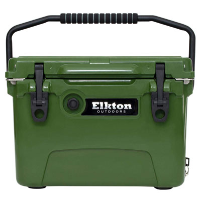 6. Elkton Outdoors Heavy Duty, Roto-Molded Ice cooler