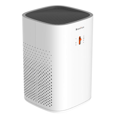 #10. KeenPure 182sq. Ft Super Quiet &Ozone Safe Compact Air Cleaner