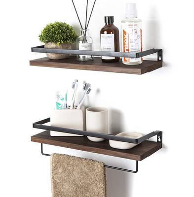 #5. SODUKU Floating Wall Mounted Shelves