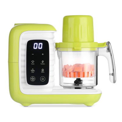 4. zanmini Baby Food Maker for Infants & Toddlers - BPA Free