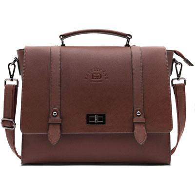 6. EaseGave Laptop Bag for Women with Professionally Padded Compartments