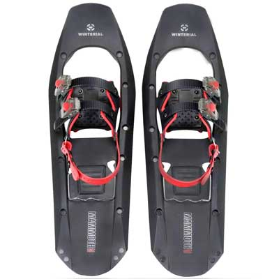 #1. Winterial Mammoth 25'' Lightweight Polymer Sq. for Advanced Users Snow Shoes