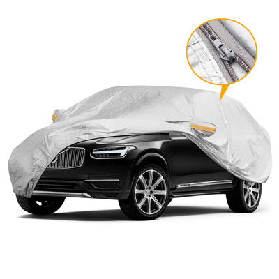 7. YIBEICO SUV Dust-Proof and Scratch Resistant Car Cover